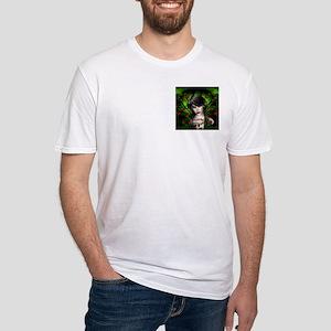 EMERALD ROSE GARDEN Fitted T-Shirt