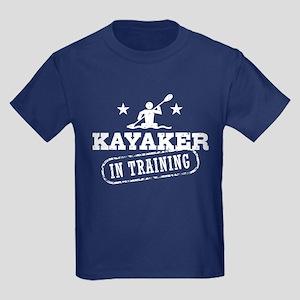 Kayaker in Training Kids Dark T-Shirt