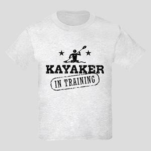 Kayaker in Training Kids Light T-Shirt