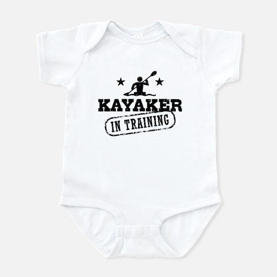 Kayaker in Training Baby Light Bodysuit