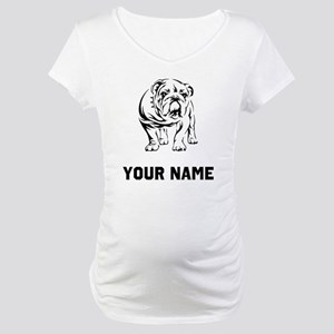Bulldog Maternity T-Shirt
