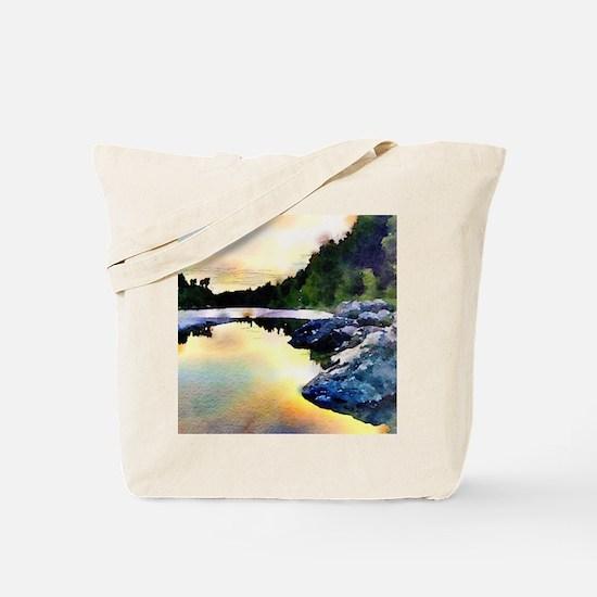 Stunning evening Tote Bag