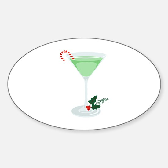 Peppermint Cocktail Decal