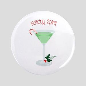 Holiday Spirit Button