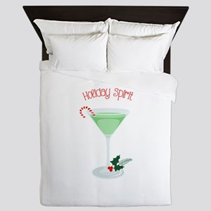 Holiday Spirit Queen Duvet