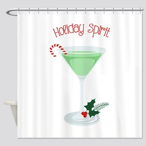 Holiday Spirit Shower Curtain