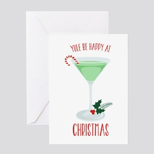 Happy At Christmas Greeting Cards