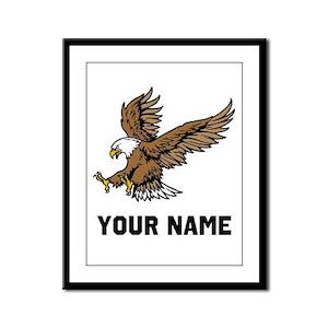 Bald Eagle Framed Panel Print