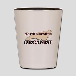 North Carolina Organist Shot Glass