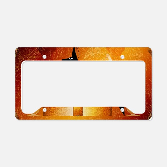 Anubis, ancient Egyptian god License Plate Holder