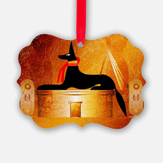 Anubis, ancient Egyptian god Ornament