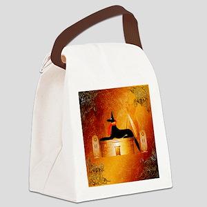Anubis, ancient Egyptian god Canvas Lunch Bag