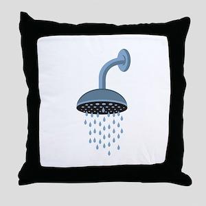 Showerhead Throw Pillow