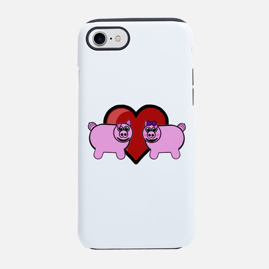 Piggy Love iPhone 8/7 Tough Case