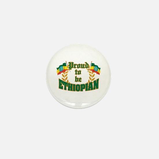 Proud to be Ethiopian Mini Button