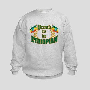 Proud to be Ethiopian Kids Sweatshirt