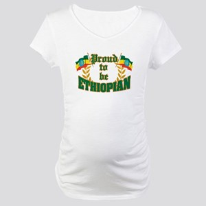 Proud to be Ethiopian Maternity T-Shirt