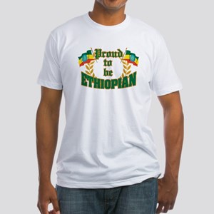 Proud to be Ethiopian Fitted T-Shirt