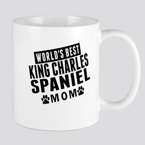 Worlds Best King Charles Spaniel Mom Mugs