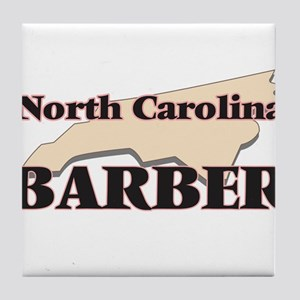North Carolina Barber Tile Coaster