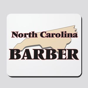 North Carolina Barber Mousepad