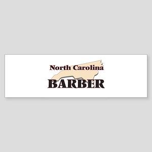 North Carolina Barber Bumper Sticker