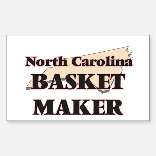 North Carolina Basket Maker Decal