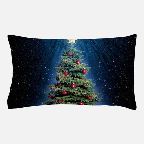 Beautiful Christmas Tree Pillow Case
