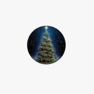 Beautiful Christmas Tree Mini Button