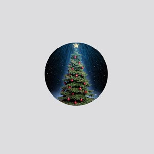 Beautiful Christmas Tree Mini Button