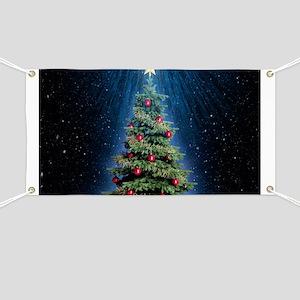 Beautiful Christmas Tree Banner