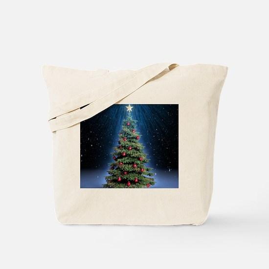 Beautiful Christmas Tree Tote Bag