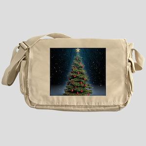 Beautiful Christmas Tree Messenger Bag