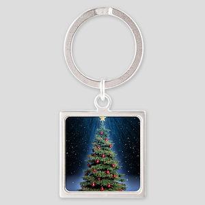 Beautiful Christmas Tree Keychains
