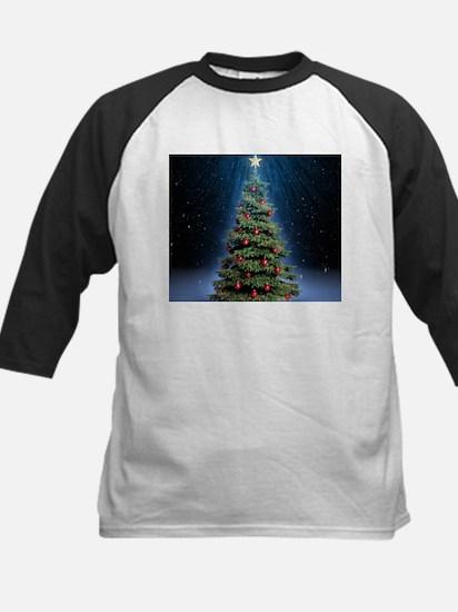 Beautiful Christmas Tree Baseball Jersey