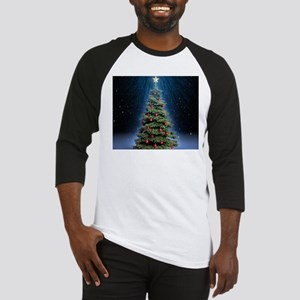 Beautiful Christmas Tree Baseball Jersey