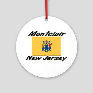 Montclair New Jersey Ornament (Round)