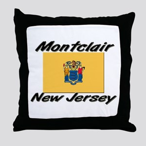 Montclair New Jersey Throw Pillow