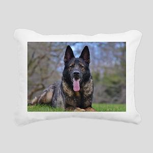German Shepherd Rectangular Canvas Pillow