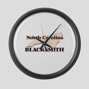 North Carolina Blacksmith Large Wall Clock