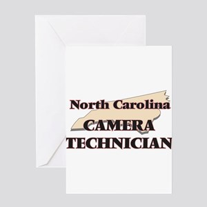 North Carolina Camera Technician Greeting Cards