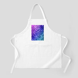 Glitter Ocean Bokeh Apron