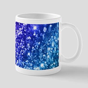 Glitter Ocean Bokeh Mugs