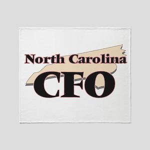 North Carolina Cfo Throw Blanket