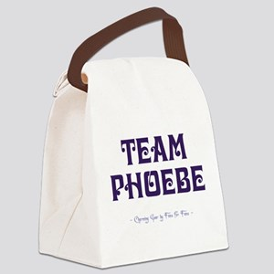 TEAM PHOEBE Canvas Lunch Bag