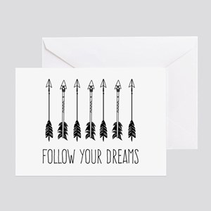 Follow Your Dreams Greeting Cards