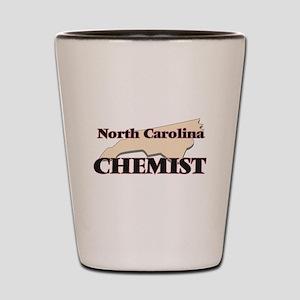 North Carolina Chemist Shot Glass