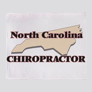 North Carolina Chiropractor Throw Blanket