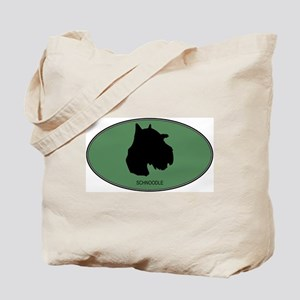 Schnoodle (green) Tote Bag