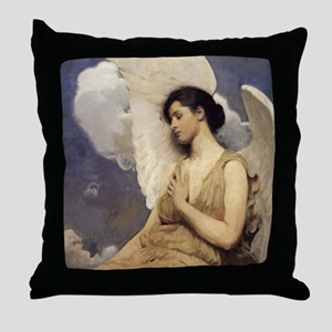Vintage Angel Throw Pillow